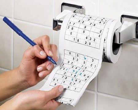 在厕所的时候,很无聊,怎么办?