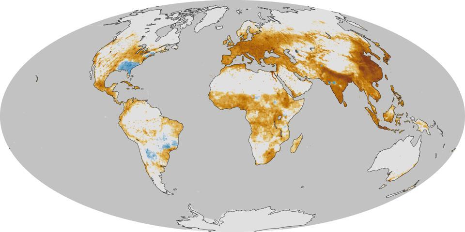 空气污染地图